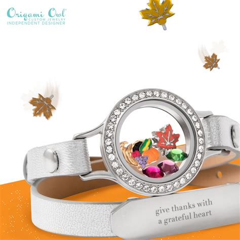 www origami owl thanksgiving collection origami owl newton
