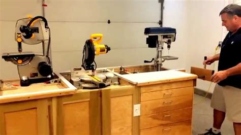 woodworking space workbench ultimate garage space saver woodworking
