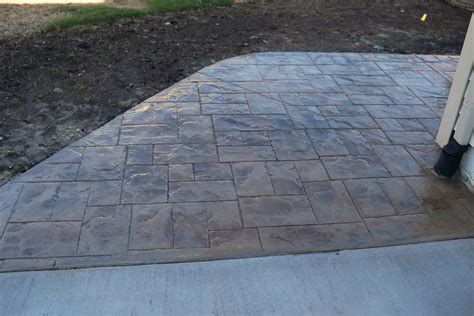 concrete patio vs pavers dr dan s garden tips sted concrete vs pavers