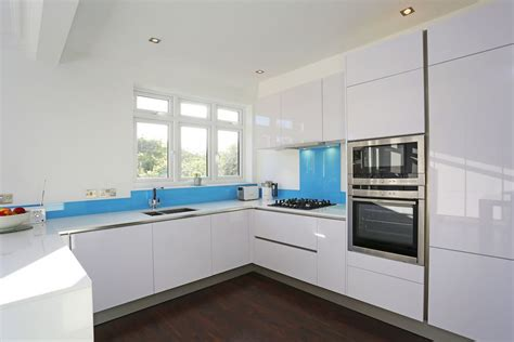 white gloss kitchen designs high gloss kitchens from lwk kitchens