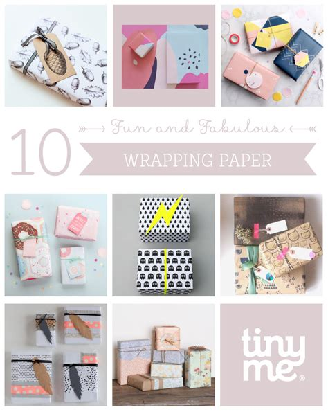 10 and fabulous wrapping paper tinyme