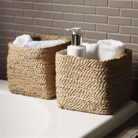 Bathroom Basket Ideas by Bathroom Storage Baskets Ideas Bathroom