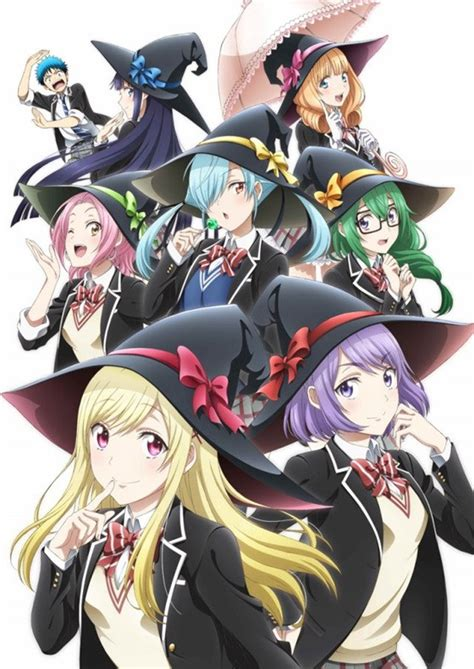 Crunchyroll Quot Yamada Kun And The Seven Witches Quot Tv Anime