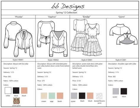free raffle sample line sheet template fashion line sheet example