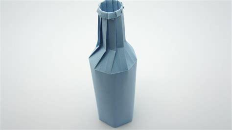 bottle origami origami bottle remake jo nakashima