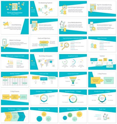 online marketing powerpoint template presentationdeck com