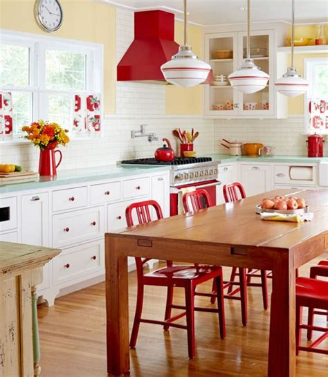 paint colors for vintage kitchen best 25 modern retro kitchen ideas on