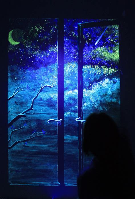 glow in the wall painting a window on the in my dreams window