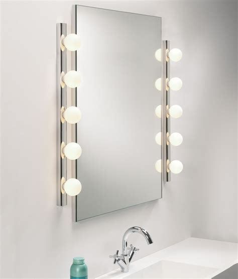 bathroom mirrors with lighting theatre style dressing room mirror light