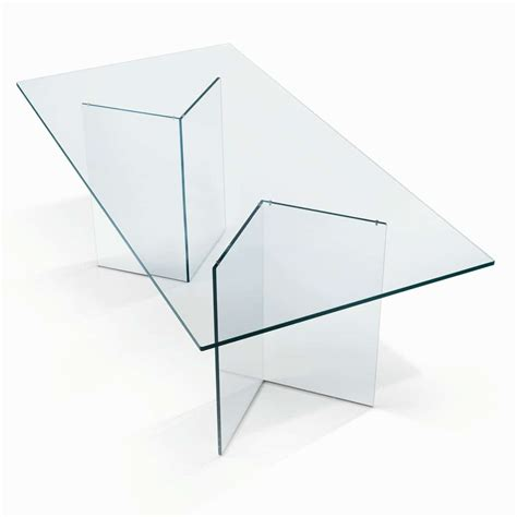 glass table tonelli bacco glass dining table klarity glass furniture