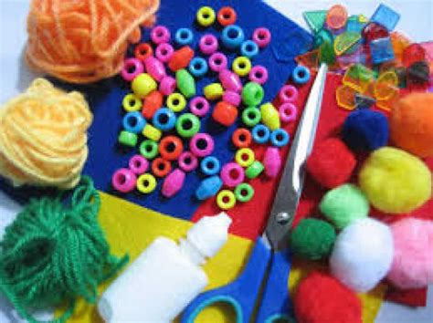 pictures of crafts arts and craft sessions at high heaton tuesdays