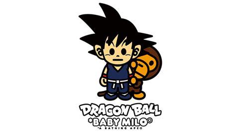 dragon ball x bape clutter magazine