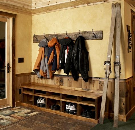 entry level woodworking meadowlark residence lower level 1 rustic entry