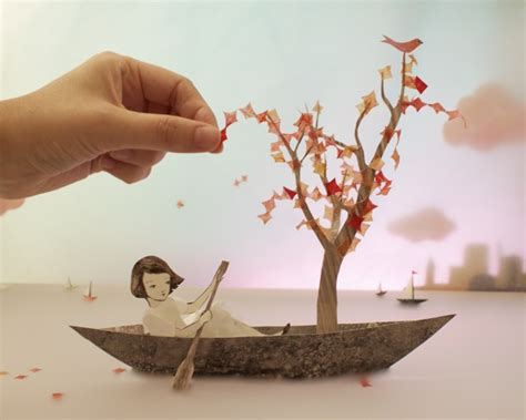 3d craft paper whimsical 3d papercraft