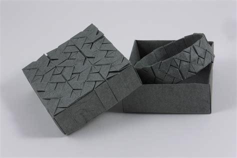 square origami square interlace tessellation by michał kosmulski crease