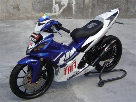 Modifikasi Honda by Modifikasi Honda Revo 110 Fit Absolute Drag Sederhana Tapi