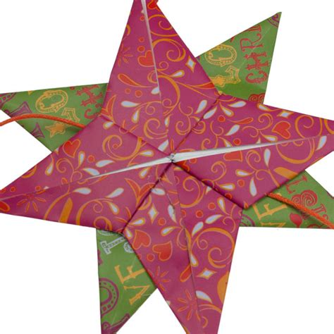 origami supplies uk green and pink origami garland 160cm decorations