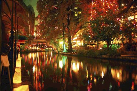 san antonio river lights