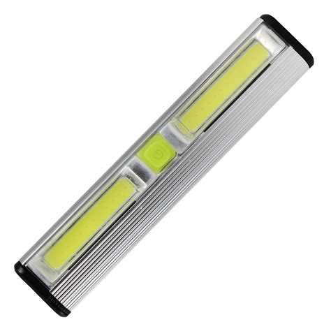 led light bar lumens battery powered cabinet light with cob led 200 lumens