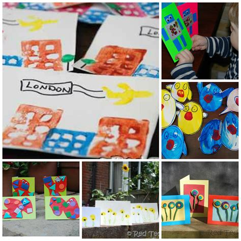free card ideas for children to make 20 card ideas for ted s