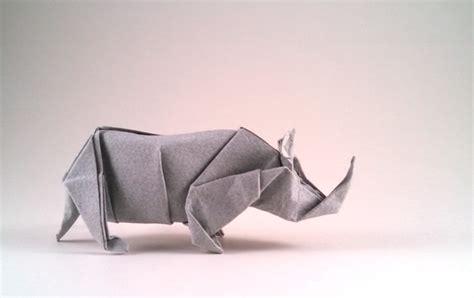 origami rhinoceros animals of the world by fumiaki kawahata book review