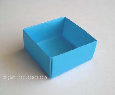 how to make origami containers origami box with lid easy