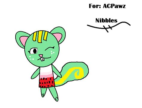 nibbles for nibbles for acpawz by toki wartoothxx on deviantart