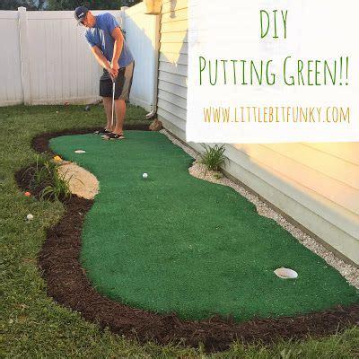 putting greens backyard how to make a backyard putting green diy putting green