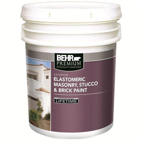 home depot paint reviews behr behr elastomeric masonry stucco brick paint white