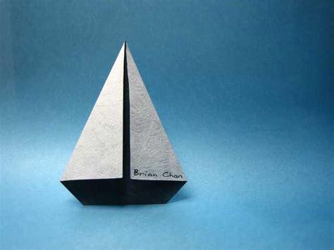 origami sailboat origami sail boat 171 embroidery origami