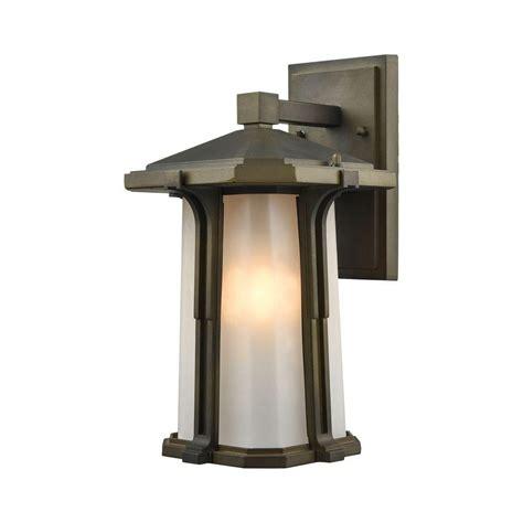 home depot outdoor wall lighting hinkley lighting low voltage 7 watt bronze flushmount