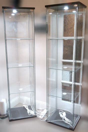 ikea cabinet led lighting glass display cabinet with led lighting ikea detolf dioder