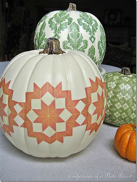 decoupage pumpkin 11 ideas for pretty pumpkins decorating your small space