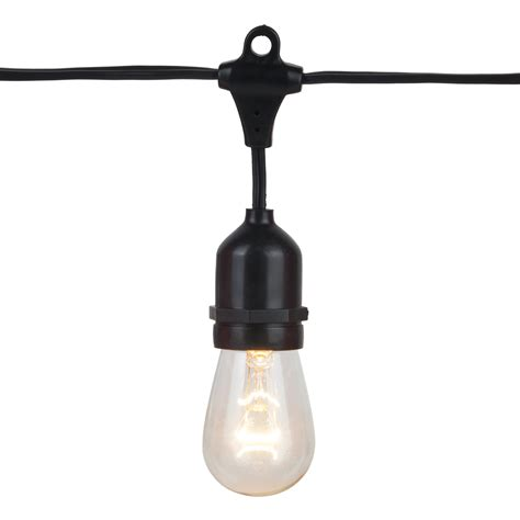 commercial string lights outdoor outdoor patio string lights 330 e26 commercial patio