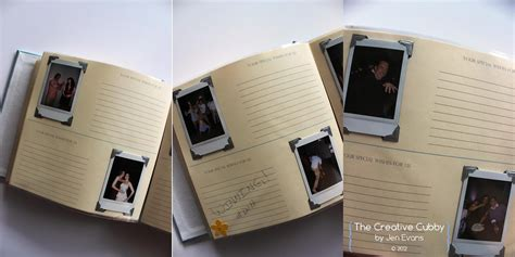 Book Polaroids Card Book Covers