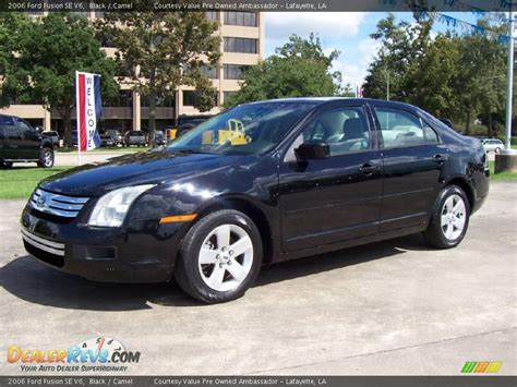 2006 Ford Fusion by 2006 Ford Fusion Se V6 Black Camel Photo 1 Dealerrevs