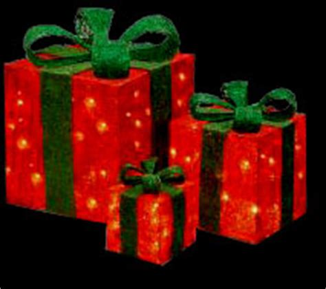 lighted presents outdoor outdoor lighted presents