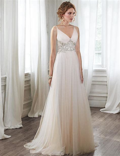beaded empire waist wedding dress 2016 maternity wedding dresses gowns casual formal