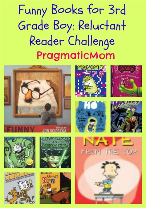 humorous picture books books for 3rd grade boy reluctant reader challenge