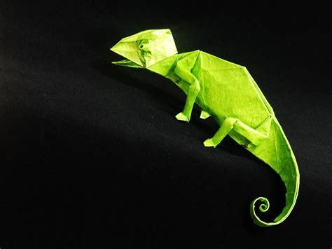 Origami Gecko Wallpaper High Definition High Quality