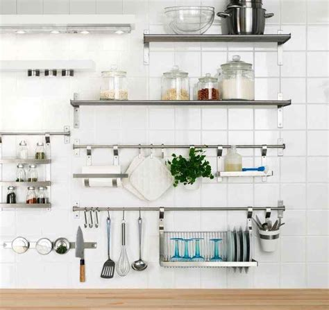 kitchen rack design 15 dramatic kitchen designs with stainless steel shelves