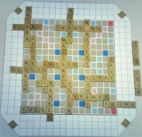 zax scrabble scrabble boards scrabble ii world s best scrabble boards