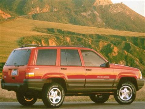 1998 jeep grand cherokee pricing ratings reviews kelley blue book