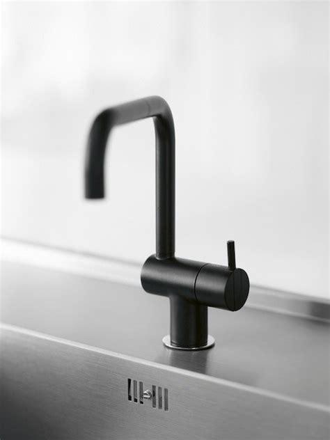 kitchen faucets black high low black kitchen faucet remodelista