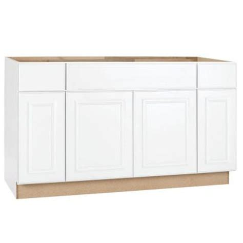 kitchen sink base cabinet hton bay 60x34 5x24 in hton sink base cabinet in