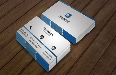 how to make a professional business card free downloadable business card template