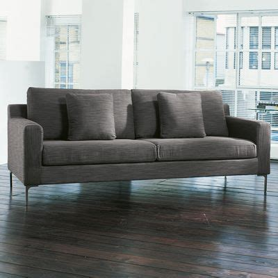 dwell oslo three seater sofa grey for the home
