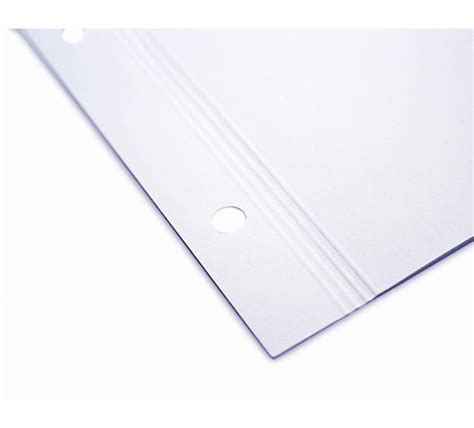 pre punched craft paper 14 quot x11 quot pre punched matte inkjet paper for screwpost