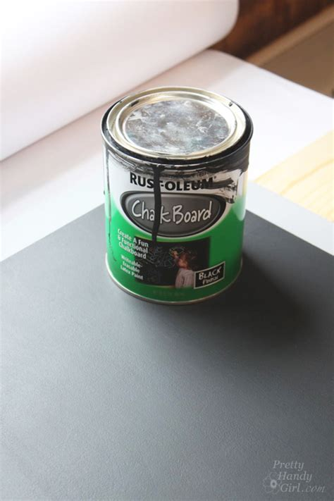 chalkboard paint remover how to make a chalkboard surface desk pretty handy