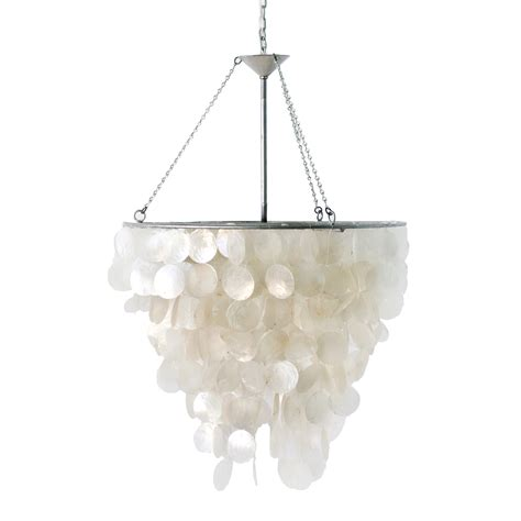 capiz shell chandelier worlds away capiz shell chandelier